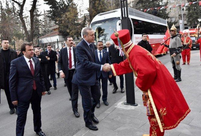 Cumhurbaşkanı Erdoğan'dan Kahramanmaraş Büyükşehir Belediyesine ziyaret