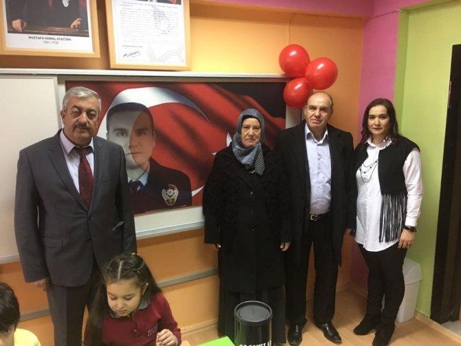 Şehit Erhan Öztürk'ün adı o okulda da yaşatılacak