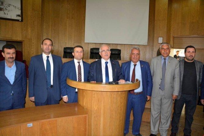 Şanlıurfa Vali Güngör Azim Tuna Viranşehir'de