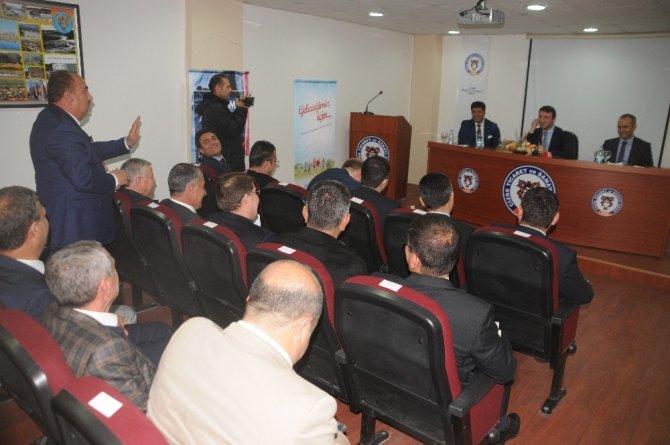 Çalışma ve Sosyal Güvenlik Bakan Yardımcısı Orhan Yegin Cizre'de