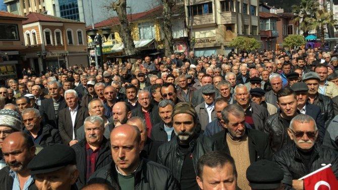 CHP Eski Genel Başkanı Deniz Baykal Zonguldak'ta