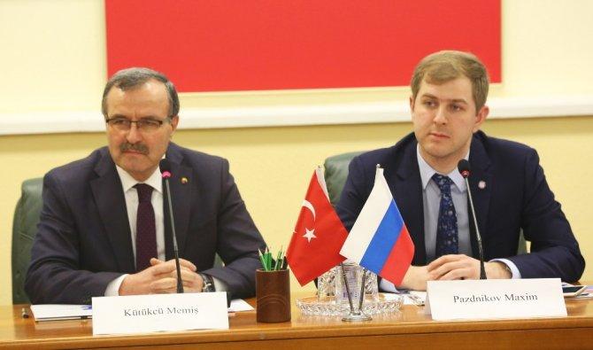 Türkiye ile Rusya arasında sanayi işbirliğini artıracak protokol