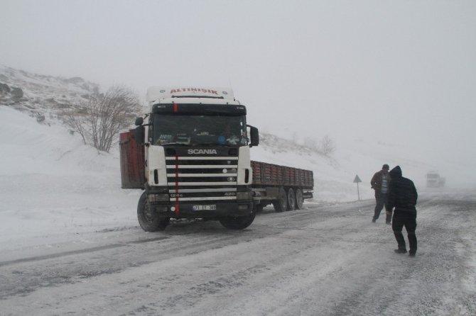 Ardahan'da kar geçit vermedi