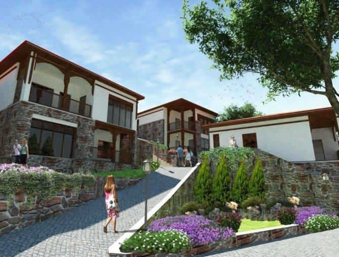 Gediz'de Ilıca Tatil Köyü projesi