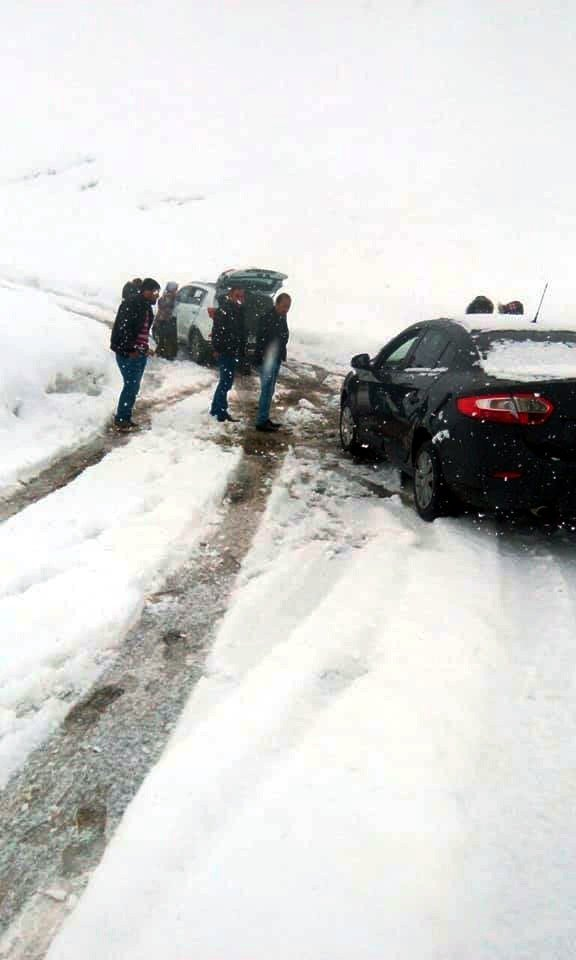 Nisan ayında kar şaşkınlığı