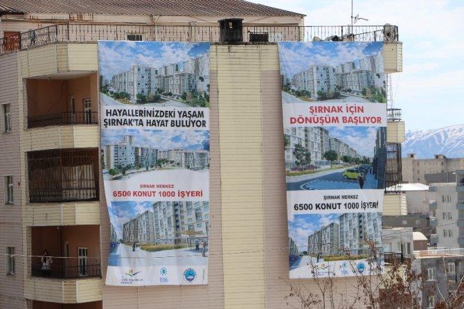 Şırnak'ta başbakanın programı için hazırlıklar tamamlandı
