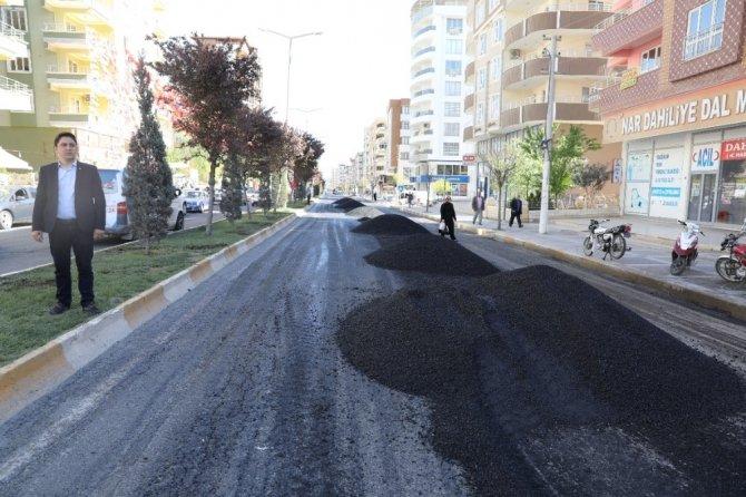 Şanlıurfa'da asfalt serimi 3 milyon metrekareye ulaştı