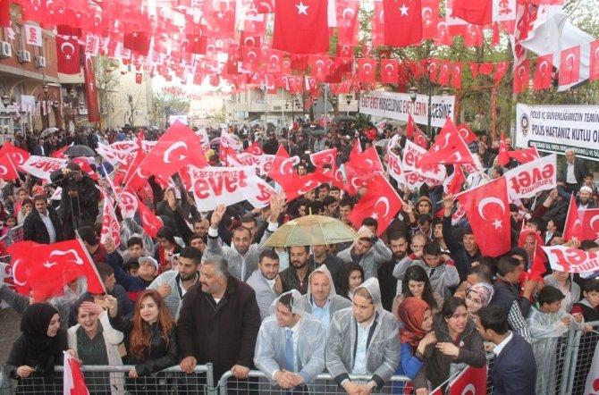 """Bakan Tüfenkci: """"Türkiye'nin güçlenmesini istiyoruz"""""""