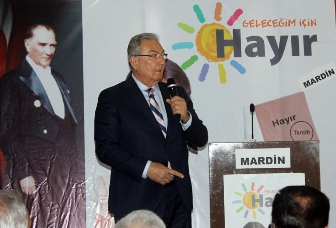 """Deniz Baykal: """"Hayır çıkarsa Anadolu'yu istiladan o gün kurtarmış gibi sevineceğiz"""""""