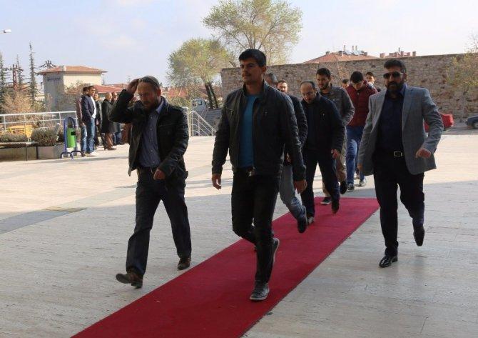 Nevşehir'de FETÖ'nün 8 'üniversite abisi' adliye sevk edildi