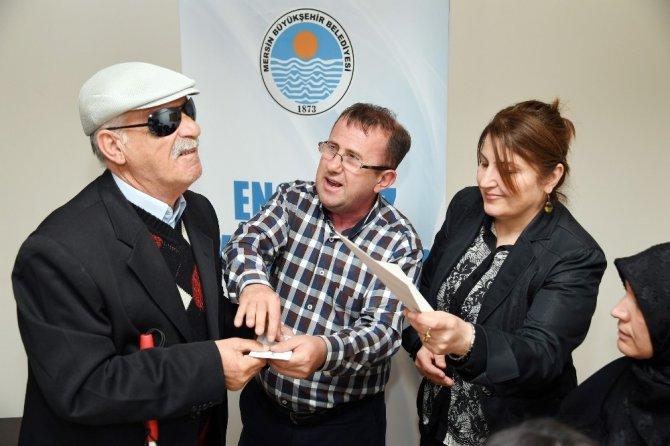 Görme Engelliler İçin İlk Kez 'Erişilebilir Oy Pusulası' Mersin'de Hazırlandı ile ilgili görsel sonucu