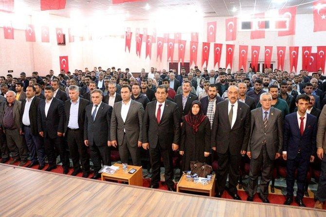 Belediye Başkanı Atilla AK Parti sandık görevlileri toplantısına katıldı