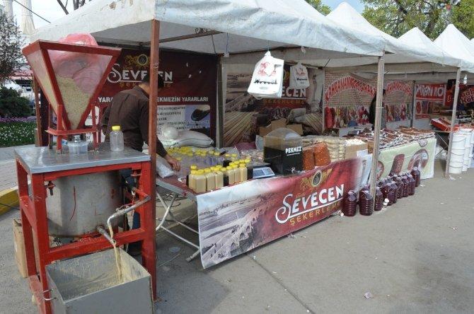 Iğdır'da yöresel ürünler fuarı