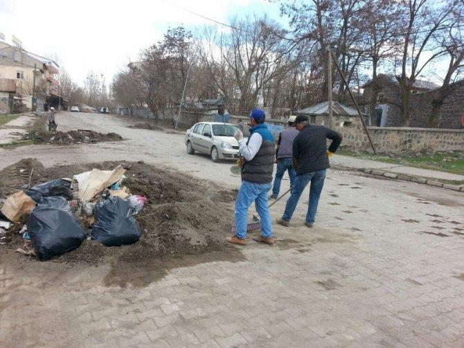 Bulanık Belediyesinden bahar temizliği