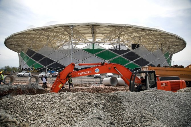 Yeni stadın altyapısına SASKİ güvencesi