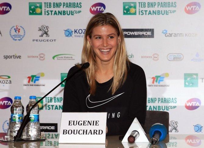 """Eugenie Bouchard: """"Sene sonunda ilk 20'nin içinde yer almak istiyorum"""""""