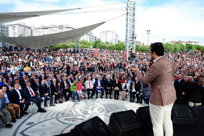 CHP Lideri Kemal Kılıçdaroğlu, Yaşam Vadisi'nin açılışına katıldı