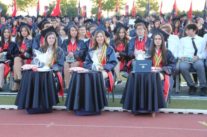 Ted Ankara Koleji Nde Mezuniyet Sevinci