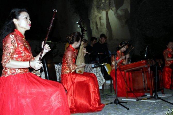 Kapadokya'da Çin müziği rüzgarı esti