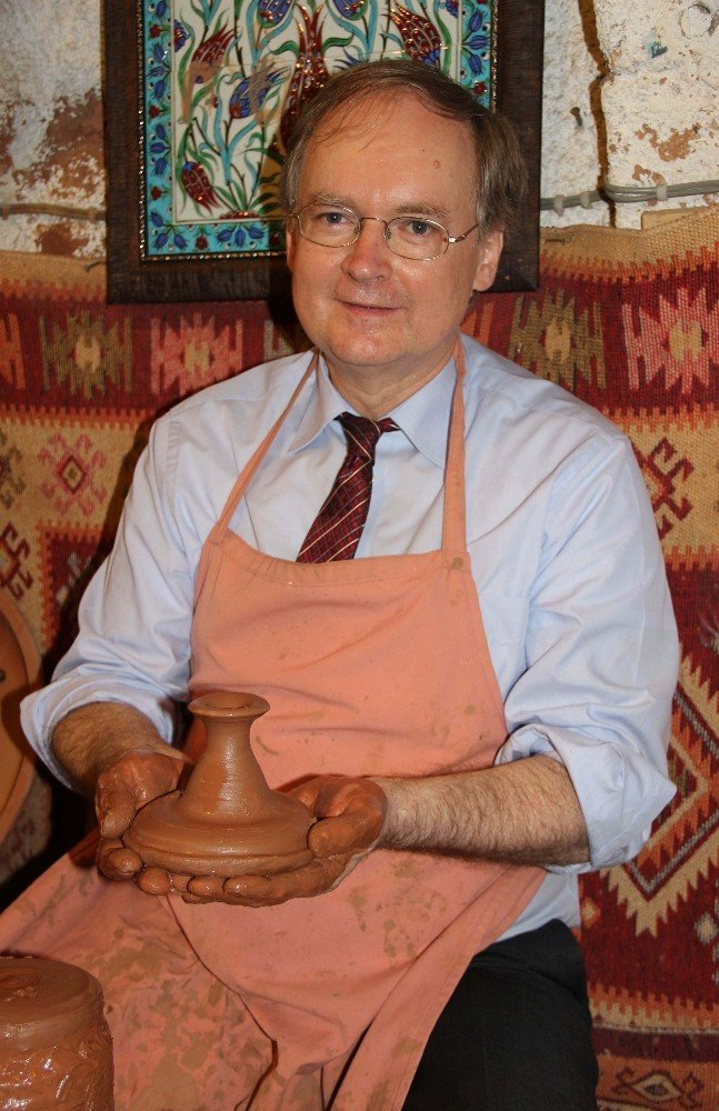 AB Türkiye Delegasyon Başkanı Berger Kapadokya'da çanak yaptı
