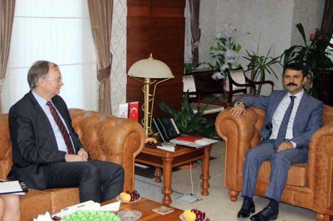 AB Türkiye Delegasyonu Başkanı Büyükelçi Berger, Nevşehir'de