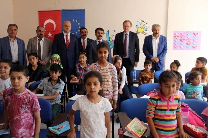 Nevşehir'de Sığınmacılar ve Göçmenlerle Dayanışma Derneği açılışı yapıldı