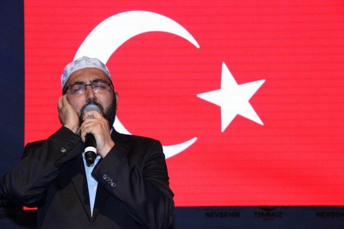 Nevşehir'de 15 Temmuz 2016 salalar ile hatırlatıldı
