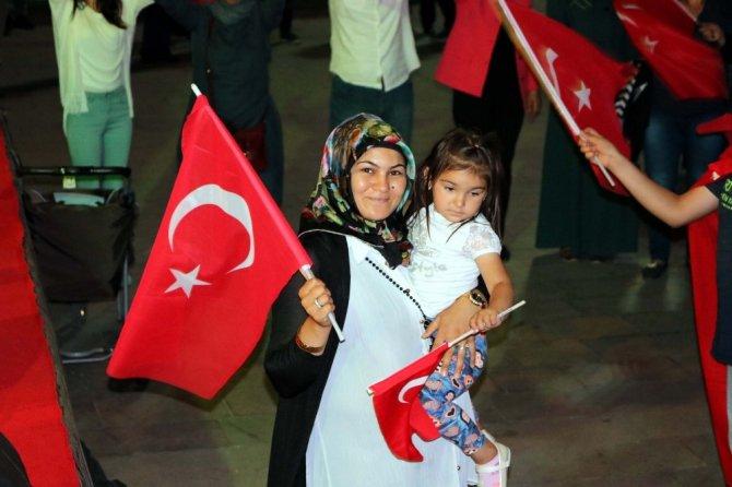 Yozgat'ta demokrasi nöbeti