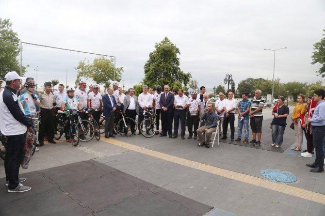 15 Temmuz şehitleri için Konya'dan Çanakkale'ye pedal çeviriyorlar