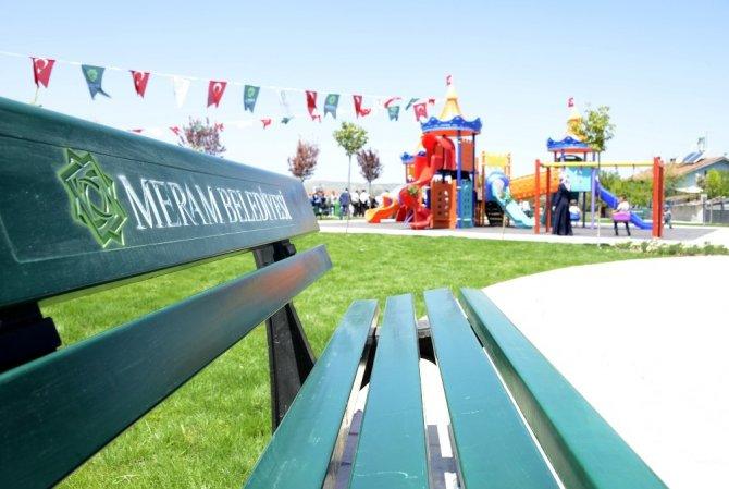 Meram'a 14 yeni park