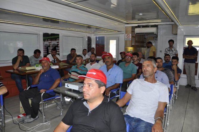 TIR'da inşaat ustalarına seminer