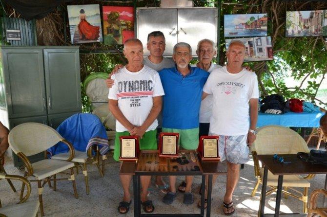 Ayvalık'ta tavla şampiyonası