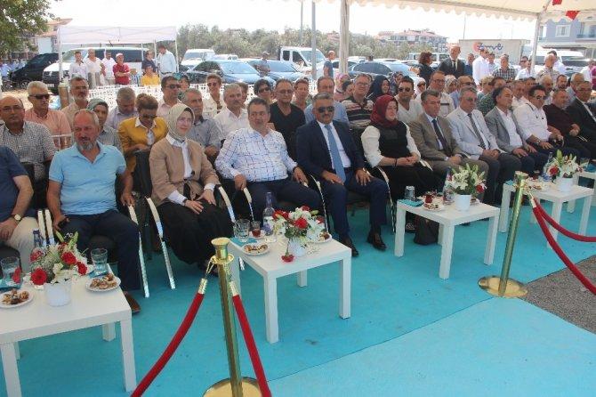 Edremit Toplum Sağlığı Ve Sağlıklı Yaşam Merkezi temel atma töreni yapıldı