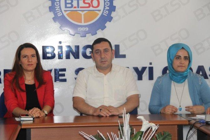 Bingöl'de '1. Bingöl Ulusal Kadın Girişimciliği Kongresi' düzenleniyor