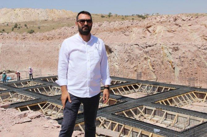 Nevşehir'de Doğa Koleji temel atma töreni yapıldı