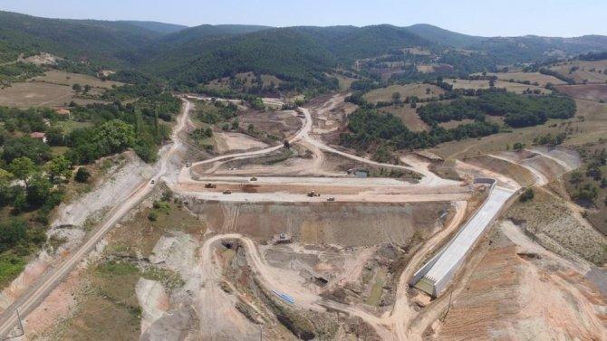 Bahçedere Göleti inşaatı devam ediyor