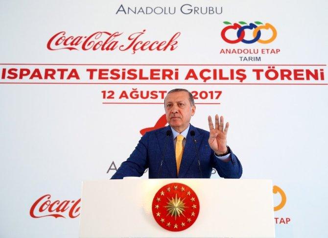 """Cumhurbaşkanı Erdoğan: """"Ülkemize yatırım yapan hiç kimse pişman olmamıştır"""""""