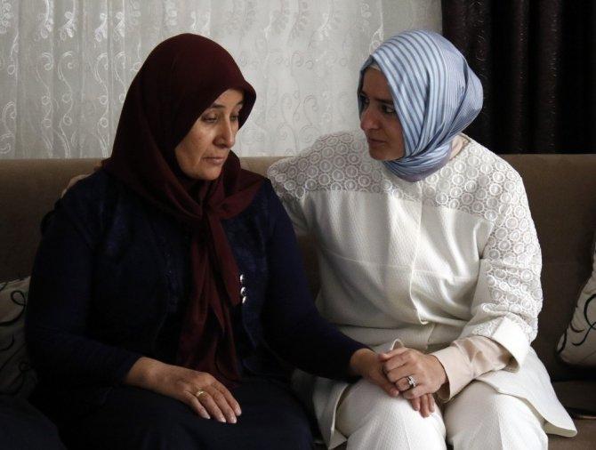 """Aile ve Sosyal Politikalar Bakanı Kaya: """"Eren, vatanı için canını korkmadan veren yavrularımızın olduğunu tekrar gösterdi"""""""