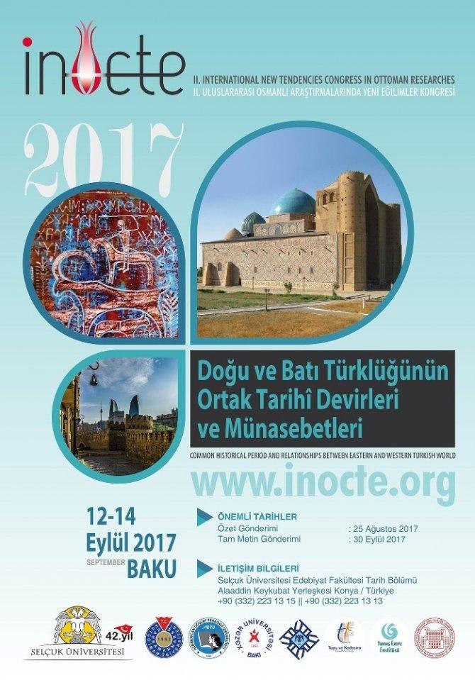 Selçuk Öncülüğünde Türk Dünyası Bakü'de Buluşuyor