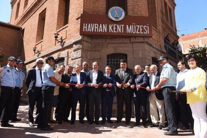 Havran Kent Müzesi açıldı