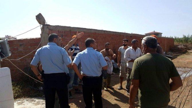 Balıkesir'de inşaatta göçük: 1 yaralı