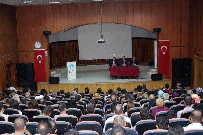 Ağrı'da okul müdürleri toplantısı