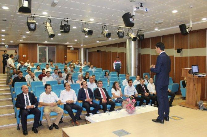 Adliyede personeline stres ve zaman yönetimi semineri