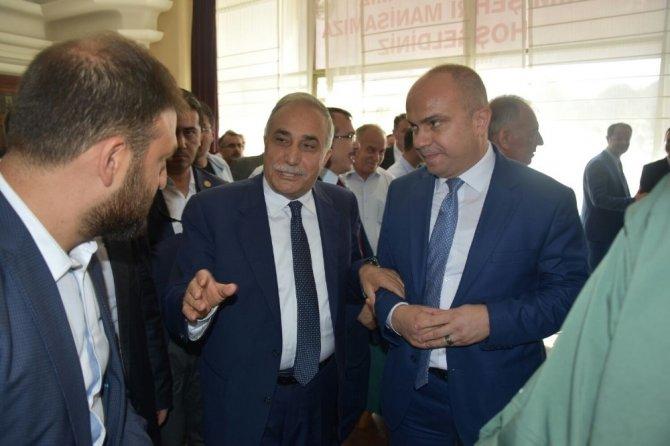 Mersinli'den Bakan Fakıbaba'ya Manisa teşekkürü