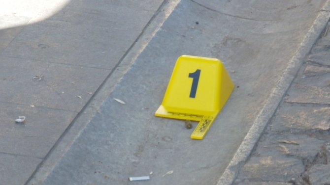 Kuyumcuda silahlı yaralama: 1 yaralı
