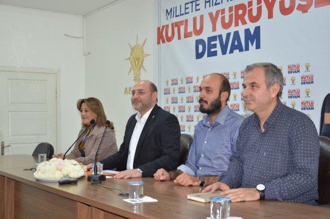AK Parti Kütahya İl Başkanı Ali Çetinbaş: 8 ilçe başkanımız değişiyor