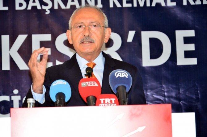 """CHP Genel Başkanı Kılıçdaroğlu: """"4 yılda terörü bitireceğim"""""""