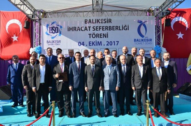 Balıkesir'den 5 milyon dolarlık ihracat gerçekleşti