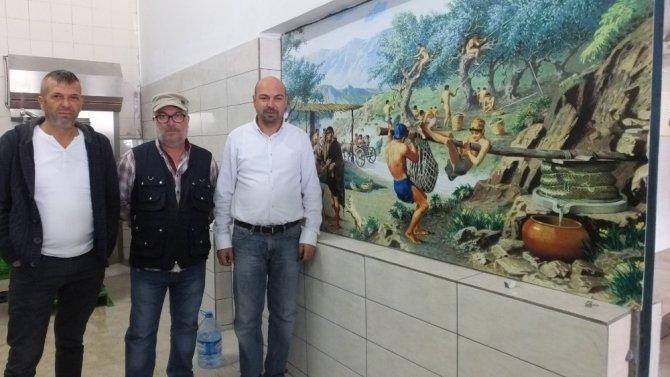 Burhaniye'de devlet desteği ile zeytinyağı fabrikaları yenileniyor