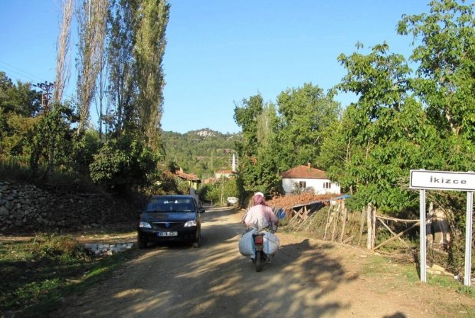 İvrindi'de toprak yol tepkisi